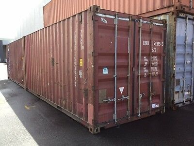 20ft Gen. Shipping Container. Old but Water and Vermin Proof. Deliver Vic wide.
