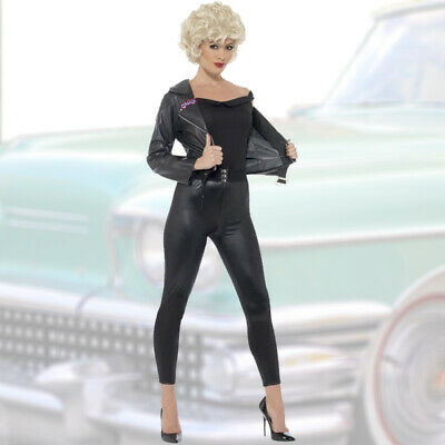 Grease Damen Kostüm S 36-38 50er Jahre Outfit Sandy Rock n Roll Frauenkostüm