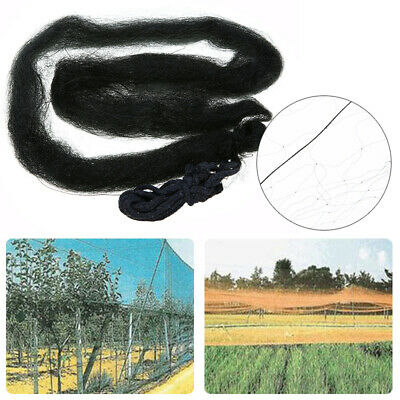 4m-15m Black Anti Bird Netting Net Mesh For Fruit Crop Plant Tree Vineyard New