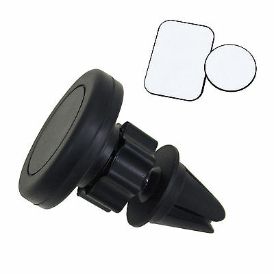 Car Air Vent Mount 360 ° Clip Magnetic Holder Grip GPS For Cell Phone Universal