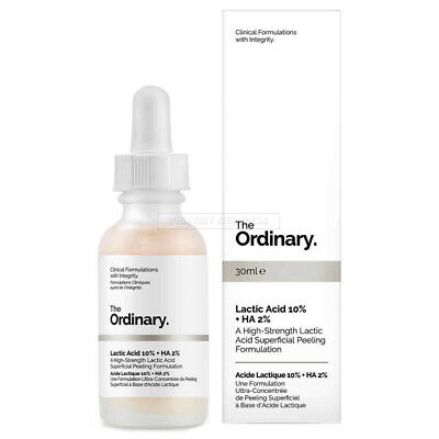 The Ordinary Lactic Acid 10% + HA 2% 30ml High Strength Peeling Formulation