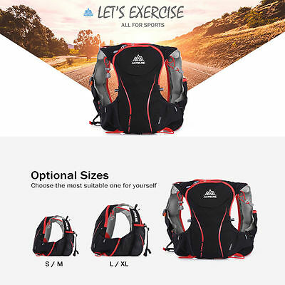 AONIJIE 5L Hydration Vest Backpack Outdoor Camping Cycling Sports Bag S/M/L/XL