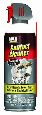 Contact Cleaner 11Oz Supply House Business Pro Chemical Soap Oil Dirt Safe Tuner