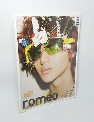 K-POP SHINEE 2nd Mini Album [Romeo] TAEMIN Version CD + Photobook Sealed