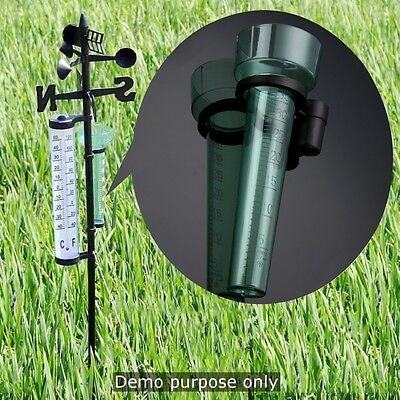 Rain Gauge Measurement Rainfall Resistant for Garden Outdoor Yard 35mm