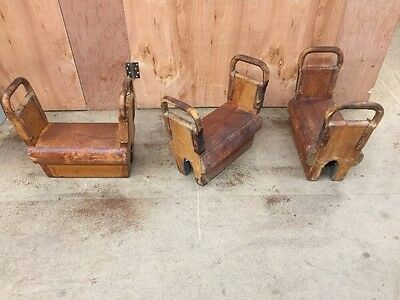Vintage Vaulting Gym Equipment (3 Available)
