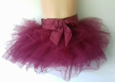 NEXT age 18-24 mths burgendy tutu skirt