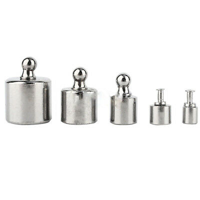 5Pc 1g 2g 5g 10g 20g Precision Calibration Weight Kit Jewelry Scale Balance Test