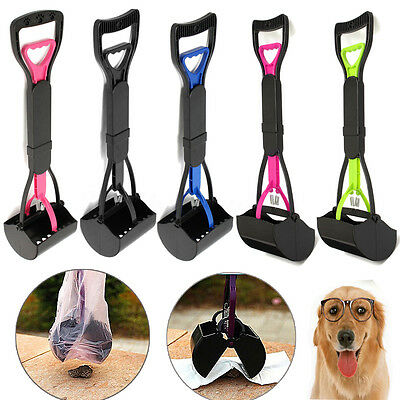 Pet Dog Waste Easy Pickup Pooper Scooper Walking Poo Poop Scoop Grabber Picker