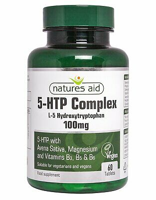 Natures Aid 5-HTP Complex 100mg - 60 Tablets