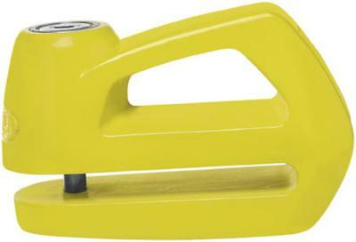 New Abus Element 290 Disc Lock Motorcycle Security/Lock, 290 Yellow