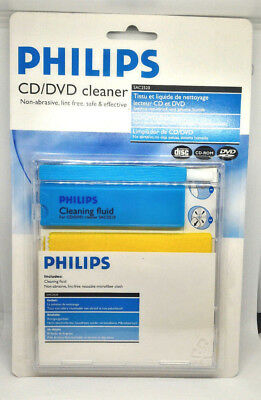 Philips CD DVD Cleaner & Protects SAC 2520 CD Player