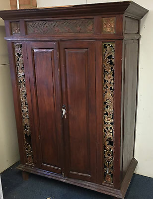 Cabinet/Cupboard Reproduction Very Large, Storage, Great Shabby Chic Project !