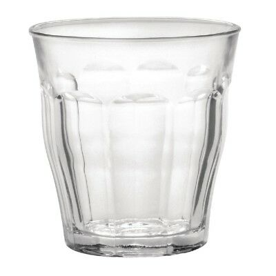 6X Duralex Picardie Tumblers 310ml 94X90mm Drinking Glasses