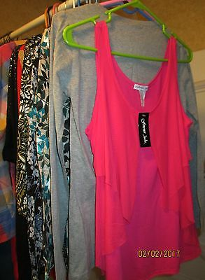20 Pc Top Lot ~All Excellent Tops ~All Sizes  Many New W/ Tags!!! Women's & Jr.