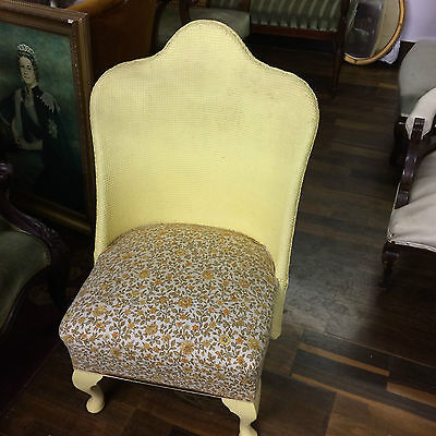 Lloyd Loom Nursing chair absolutely lovely item in perfect condition