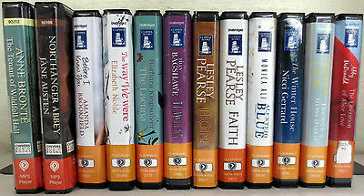 *Huge Lot* Playaway Audio Books: Bronte Austen Noble Pearse Gerrard Leon Ali etc