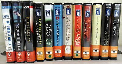 *Huge Lot* Playaway Audio Books: Kershaw Khoury Burgess Carrell King White etc