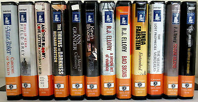 *Huge Lot* Playaway Audio Books: Baker Kerr Loyd Granger Brooks Ellory Burdett