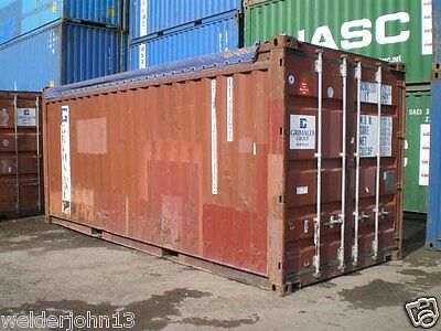 Shipping Containers 20 Ft Open Tops Used Cargo Grade Liverpool Depot