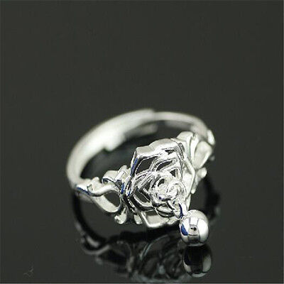 925 Solid Sterling Silver Plated Women/Men NEW Fashion Ring Gift SIZE OPEN H203