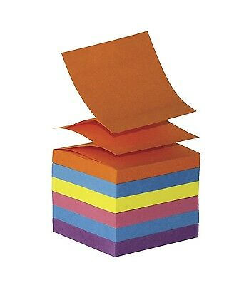 School Smart Pop Up Self Stick Notes - 3 x 3 inches - 12 Pads of 100 Sheets - As