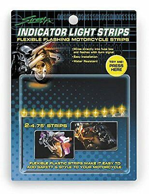 STREETFX ELECTROPODS®  INDICATOR LIGHT STRIPS* YELLOW  oem# 1043459