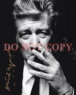 David Lynch Autographed  8X10 Signed Photo Reprint