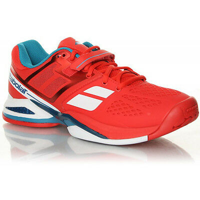 Babolat Propulse BPM All Court Red Junior Tennis Shoes NEW FREE SHIPPING