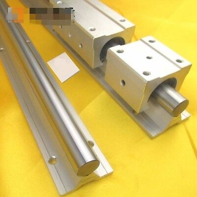 SBR20 Fully Supported Linear Rail Shaft Rod Linear Shaft With Support Dia 20mm