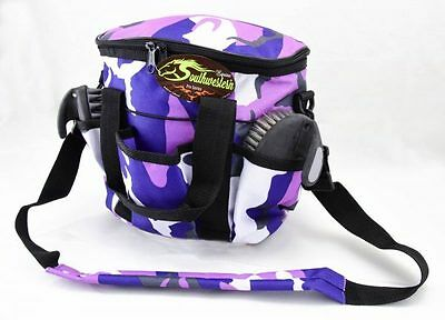 Deluxe Grooming Kit - By Southwestern Equine - Camo Purple