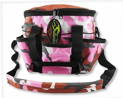 Deluxe Grooming Kit - By Southwestern Equine - Camo Pink