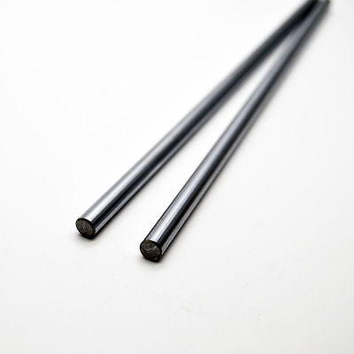 OD 6mm Harden Process CNC Linear Rail Cylinder Shaft Optical Axis Smooth Rod x10