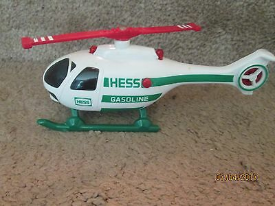 1995 HESS MINIATURE HELICOPTER - Lighted and Blades spin and work. FREE SHIPPING