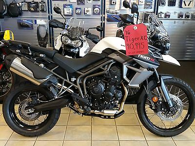 "2016 Triumph Tiger  2016 TRIUMPH TIGER 800 XC ""NEW"" FREE SHIPPING or $400.00 off FULL WARRANTY"