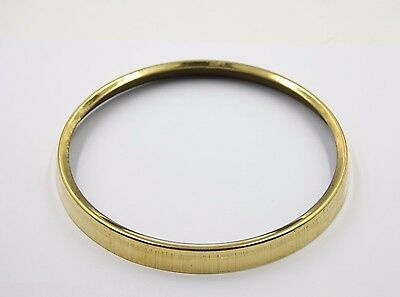"""New Brass Bezel for American Session Clocks /6"""" Diameter Clock Replacement Parts"""