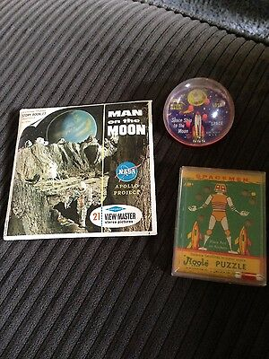 vintage space toy lot