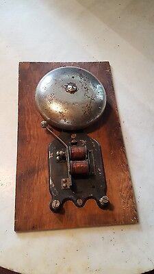 Antique Factory Shop Firehouse Service Station Garage Bell