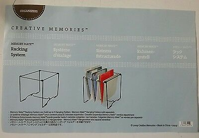 CREATIVE MEMORIES Memory Mate racking storage system NEW IN PACKET