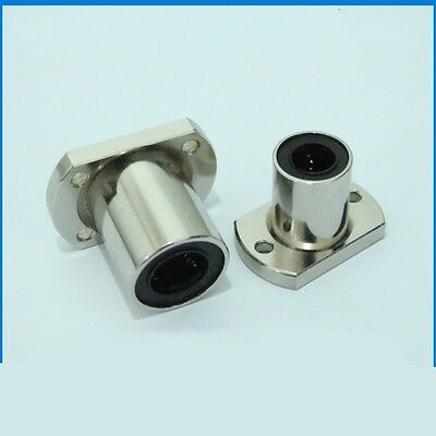 Electroplate Oval Flange Router Shaft Linear Motion Bearing LMH13 LMH16 LMH20/25