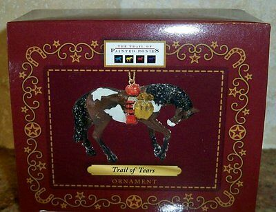 Trail of Painted Ponies Ornament TRAIL OF TEARS Pony Horse~Cherokee Tribe~NEW!