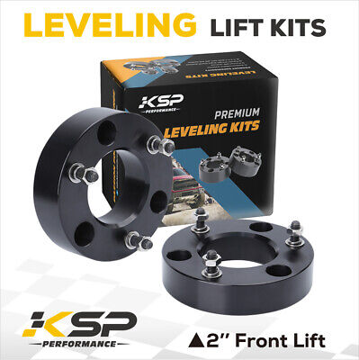 Ford F150 2'' Front Leveling Lift Kit Strut Spacer 2006 2010 2WD 4WD 2004-2016
