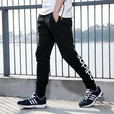 ADIDAS Men's Tapered Fit Fleece Tracks Tracksuit Pants - Size S to XL - OZ STOCK