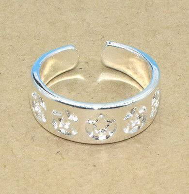 925 Solid Sterling Silver Plated Women/Men NEW Fashion Ring Gift SIZE OPEN H215