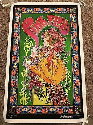 Bob Masse Pink Floyd Show Poster Marquee Club Mad Hatter's Tea Party Print Mondo