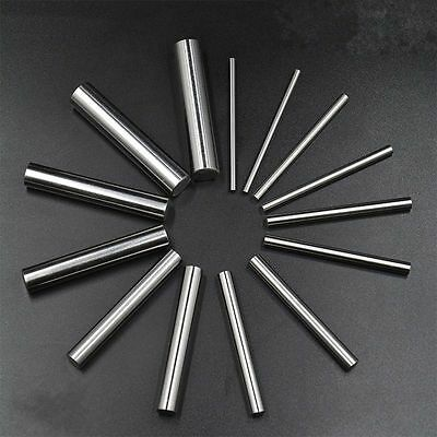 100pcs OD 1mm Stainless Steel Dowel Pins Fasten Elements, long 3 to 20mm #FR6 CY