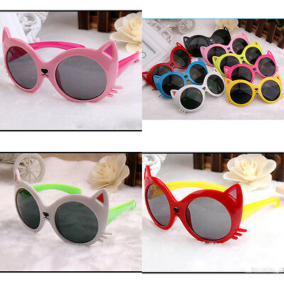 6 Colors UV Rays Protection Baby Toddler Sunglasses Cute Cat Lenses Sunglasses