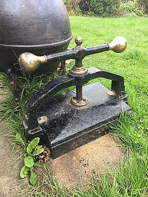 Antique Victorian A3 Book Press