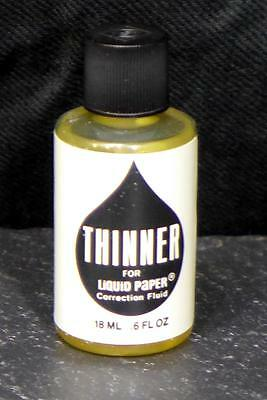 1979 Liquid Paper Thinner Original Formula