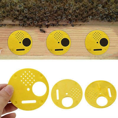 12pcs Beekeepers Bee Hive Nuc Box Entrance Gates Beekeeping Equipment Best GF